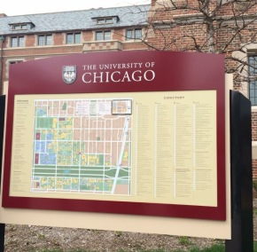 Got to visit the University of Chicago campus